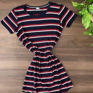 Garage | Striped T-Shirt Dress